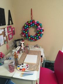 Office wreath