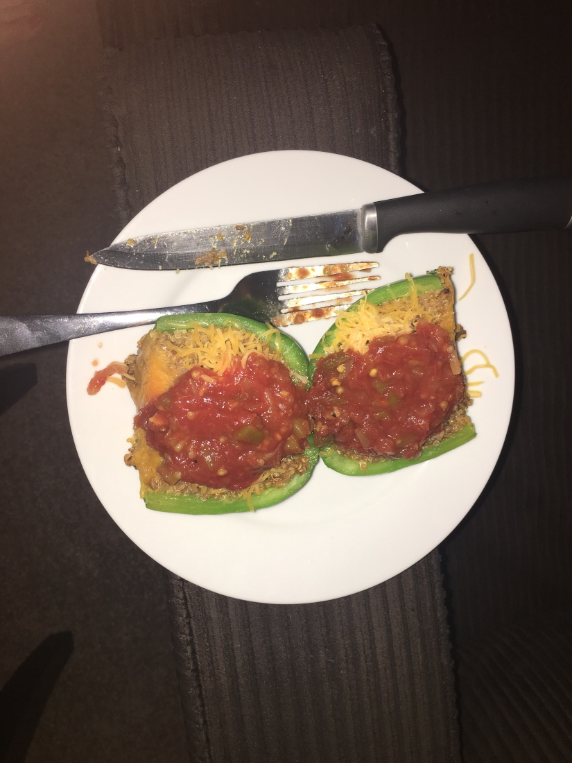 Stupid Easy Stuffed Peppers